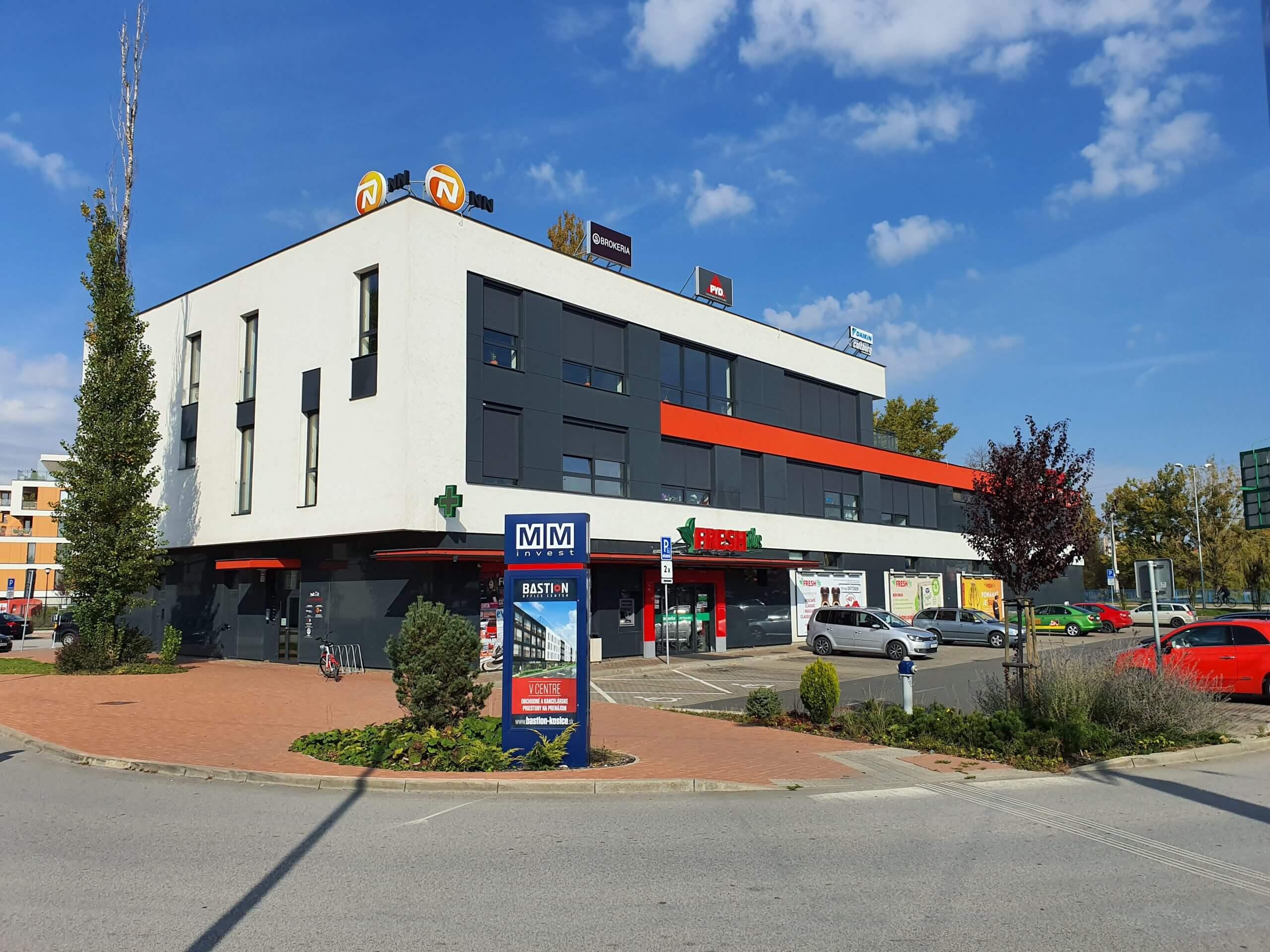 Budova Salón Park Anička, Wiktória Visage - líčenie Košice